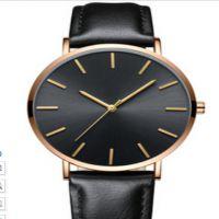 外贸热卖 6.5mm 超薄仿水商务休闲石英腕表男女手表批准