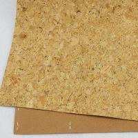 免费拿样 原木色140cm无限长碎花软木布 家居箱包专用软木布料 木纹PU革 厂家直销