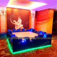 创意主题酒店情侣电动床情趣圆形水床夫妻震动床多功能合欢电动床上海漫炫