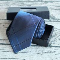 男士正装商务职业高端领带定制 男藏蓝色单位团体销售白领上班领带专业批发