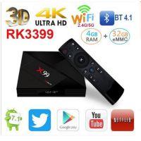 Android 7.1网络播放器X99 TV BOX RK3399 带Type-C 电视机顶盒子