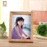 五尺寸 7寸简约木相框摆台创意影楼照片框批发家居装饰儿童木像框