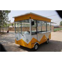 牧达流动户外水果车电动快餐早餐车卖盒饭的快餐车