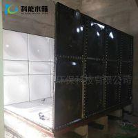 搪瓷水箱科能厂家直销 浴池用Q235钢板水箱 定做搪瓷油箱