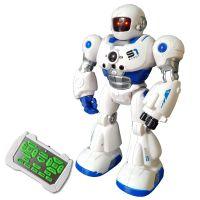 智能机器人模型儿童益智遥控机器人玩具电动早教摩卡战警故事儿歌