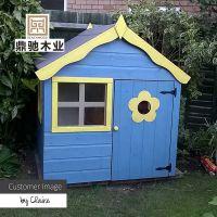 儿童小木屋户外帐篷益智大型玩具幼儿园游乐场树屋组装木游戏屋房