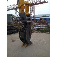 海京挖掘机抓木器,旋转抓木器价格