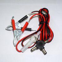 多功能夹子充电器 十字接头智能手机通用充电器 电瓶手机充电器