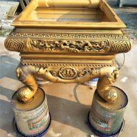 济宁中达景观建材厂家专业出售水泥仿古盆景鱼盆雕塑
