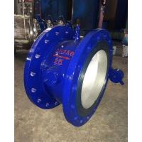 DHH44X铸钢法兰微阻缓闭消声止回阀生产厂家