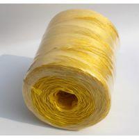 厂家直销 克拉斯小方捆打捆机专用打捆黄绳塑料绳打包绳 石家庄用黄绳哪家好 泉翔绳业质量有保障