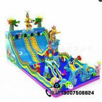 新款充气城堡儿童蹦蹦床游乐设备广场景区儿童气模玩具充气攀岩跳床