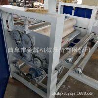 厂家直供木工设备涂胶机 高效率单双面滚胶机 木板双面刷胶机