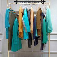 18时尚新款品牌娜尔思女装折扣专柜货源混批分份