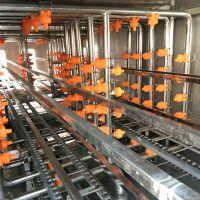 鼎鸿制造 隧道式洗盒机 不锈钢盒子清洗机 速冻模具清洗机