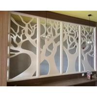 宁夏厂家专业定制4公分加框室内隔断雕花板装饰镂空板欢迎来图来样