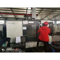 出售:2012年杭州友佳VMP-40A立式加工中心,相当于一米机,发那科0iMD系统,机械臂刀库24