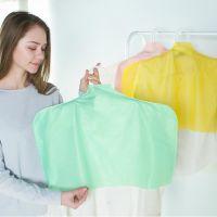 磨砂半透明衣服防尘罩 半包高品质服装无痕衣架罩 5个装 375