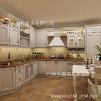组合板式卧室客厅木质橱柜 简约现代简易整体装修吊柜 橱柜加工
