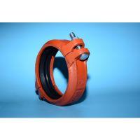 大量批发迈克沟槽卡箍管件 消防沟槽卡箍 沟槽钢卡 衬塑管件出售