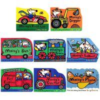 英文原版小鼠波波maisy纸板书交通工具异形书幼儿英语启蒙全套8册