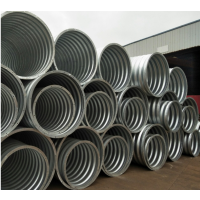 衡水贝尔克厂家直销大直径拼装热镀锌波纹钢涵管 金属波纹涵管