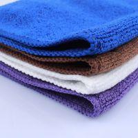 酒店咖啡吧擦桌子抹布不掉毛餐厅小毛巾方巾吸水厨房清洁用加厚
