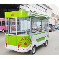 定制多功能小吃车快餐车早餐车流动售货车