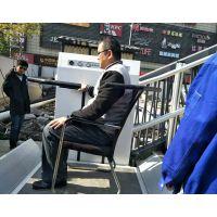 楼道小区残疾人无障碍升降机 斜挂式轮椅电梯开封市 温州市启运厂家销售