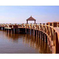 滁州防腐木木桥-合肥旺发防腐木厂-防腐木木桥哪家有