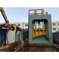 液压龙门剪切机操作规程山东金亿定做小型龙门废铁剪切机200-600吨热销