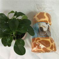 外贸印花珊瑚毛毯儿童旅行毯空调被影楼礼品贵族绒里礼品毯