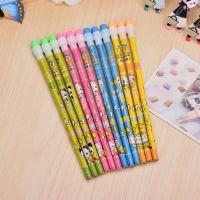 圆头系列铅笔 卡通铅笔批发 hb铅笔 木质铅笔 小额批发文具