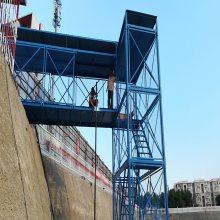 供应新型香蕉式桥梁安全爬梯通达厂家搭设规范标准