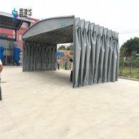北京大兴区厂家直销伸缩雨棚 移动推拉棚布 户外伸缩蓬价格怎么算
