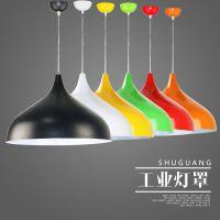 厂家直销彩色吊灯罩吧台罩整套灯现代工业灯罩
