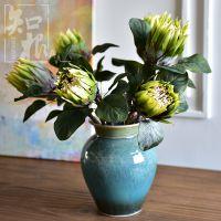 花帝王花假花热带植物摆设花卉 客厅软装饰品餐桌样板间插花