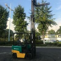 供应优质二手小松1.5吨三门架电动叉车送货质保一年