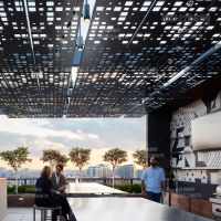 供应海南室内外造型铝单板 个性天花吊顶铝方通定制