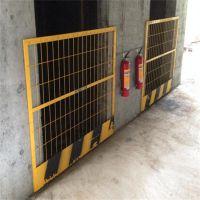 电梯浸塑隔离栅 电梯洞口防护门 建筑施工电梯门