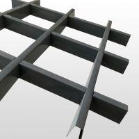 网格铁格栅铝格栅吊顶纯色木纹铁格栅吊顶天花河北廊坊厂家直销