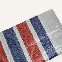 厂家批发单膜彩条布 PE塑料篷布 家具货场盖布 防水防晒抗老化