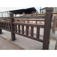 水泥仿木栏杆报价河道护栏