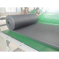 黑色阻燃橡塑海绵发泡板 难燃高密度橡塑海绵板抗压节能