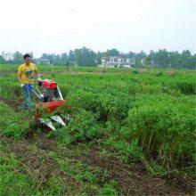 小麦大豆收割机 药材艾草收割机 四轮车挂式割晒机 圣通
