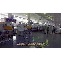 恒瑞克高效率塑料袋编织袋机械设备圆丝拉丝机