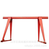 陕西榆林5吨9.8米单梁龙门起重机箱型龙门吊花架龙门吊电动葫芦吊