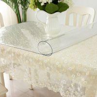 PVC防水防烫桌布透明软玻璃水晶板塑料餐桌布茶几垫台布桌垫胶垫