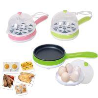 韩式迷你蒸蛋器 不锈钢六孔多功能自动煮蛋器自动断电
