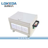 6P63A科大塑料电源箱60A成套配置户外防水电源控制箱工业配电箱